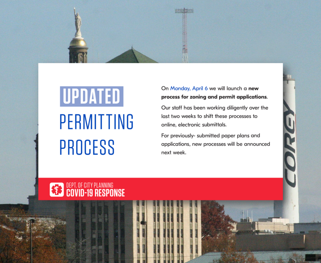Dept. of City Planning - Updated Permitting Process