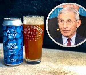 Dr. Fauci Wild Heaven Beer
