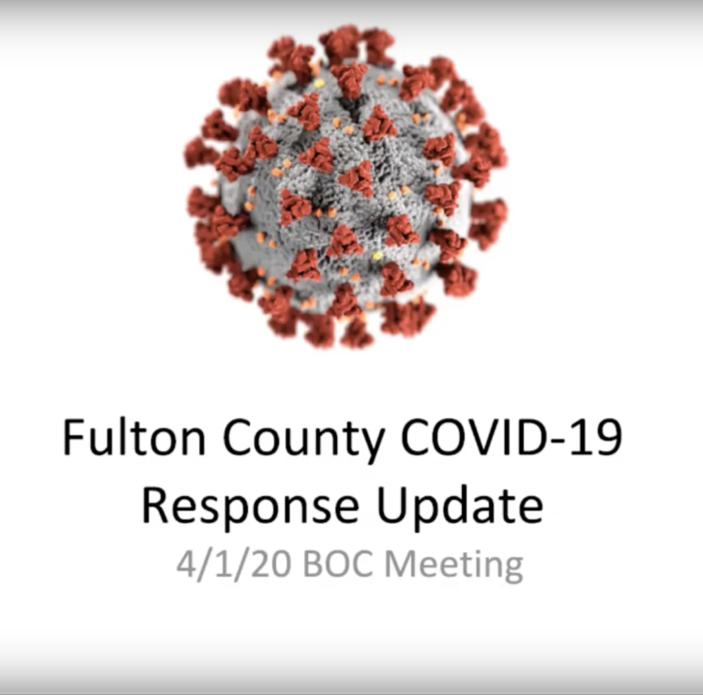 Fulton County - COVID-19 - Stay at Home