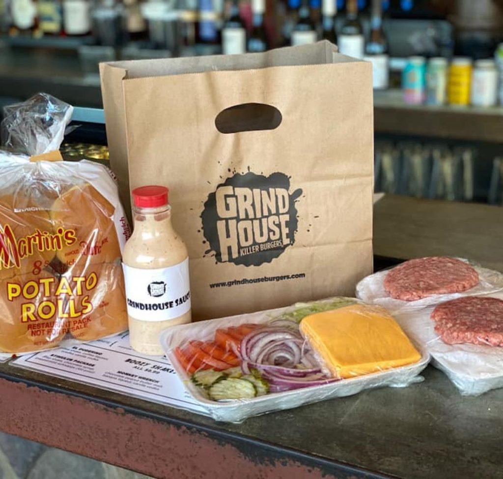 Grind at Home Burger Kit - Grindhouse Killer Burgers - COVID-19