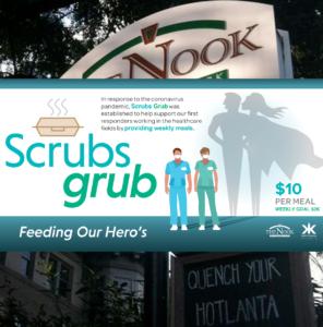 Scrubs Grub - The Nook