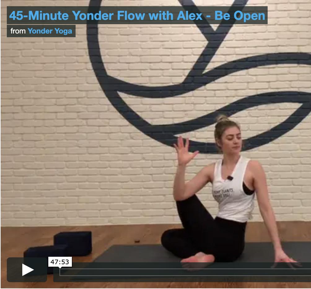 Yonder Yoga - Virtual Classes
