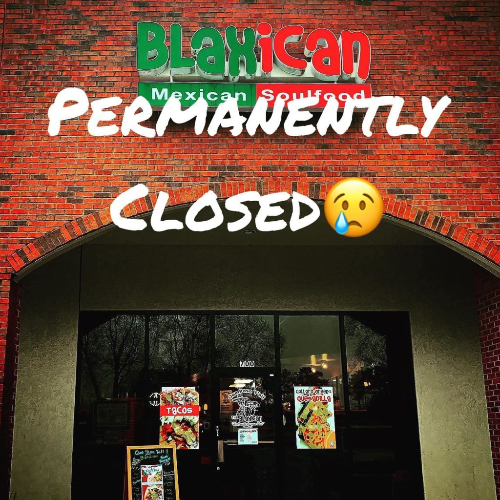 Blaxican Closed