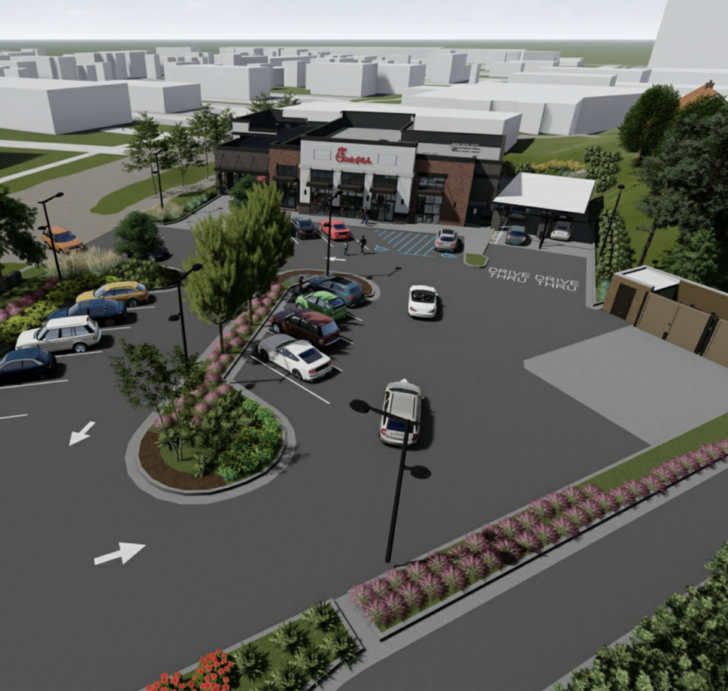 Chick-fil-A - Texaco - Ponce and Boulevard - Rendering 1