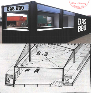 DAS BBQ - Shipping Container