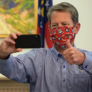 Mayor Bottoms - Masks - Brian Kemp