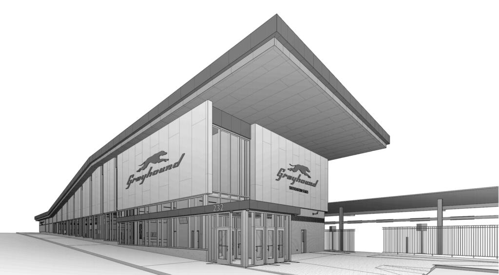 Downtown Atlanta Greyhound Intercity Bus Facility