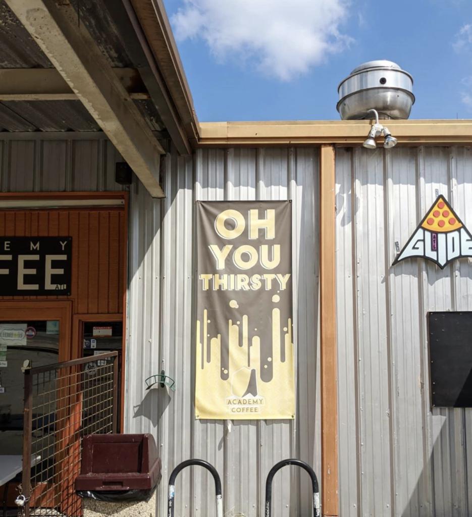 Academy Coffee Irwin Street Market