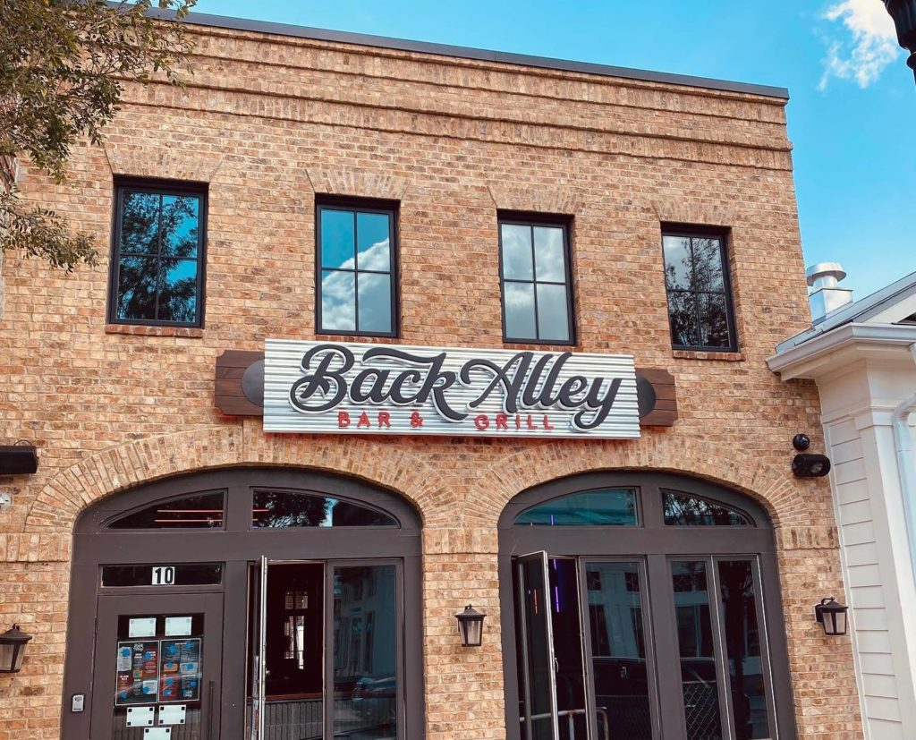 Back Alley Bar and Grill Alpharetta City Center Now Open