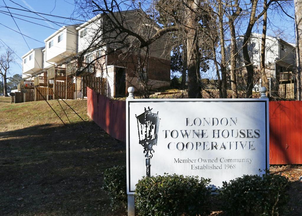 London Town Houses Redevelopment Atlanta Housing