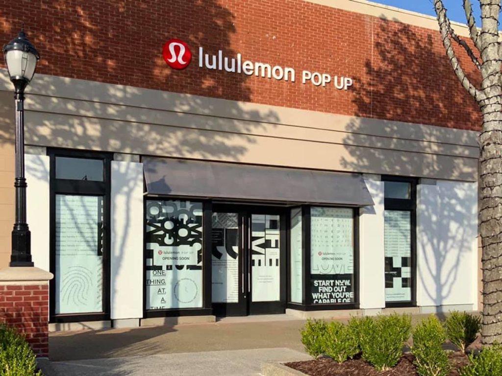 Lululemon Athletica Pop-Up The Avenue