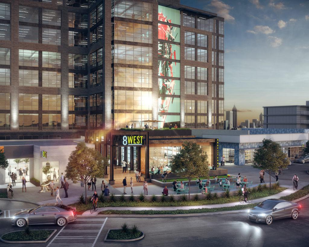 8West Midtown Atlanta Rendering