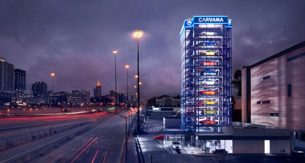 Carvana Debuts Flagship Car Vending Machine in Atlanta
