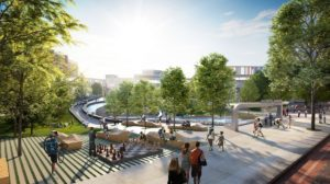 Hurt Park Renovation Rendering 1
