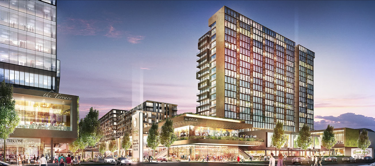 Zoning Change Request Signals Disco Kroger Redevelopment Project Is Moving Forward - Rendering 1