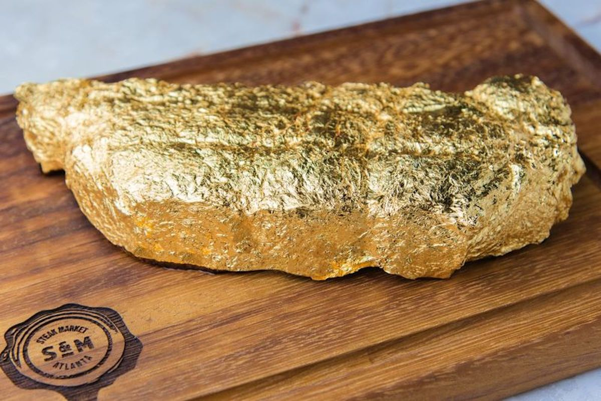 whatnowatlanta.com - Gold Leaf-Encrusted Steaks: It's What's For Dinner in Midtown When Steak Market Opens This Summer