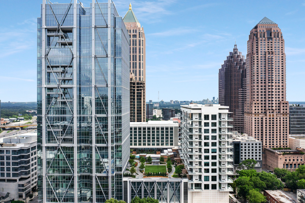 Google-Anchored 1105 West Peachtree Opens in Midtown
