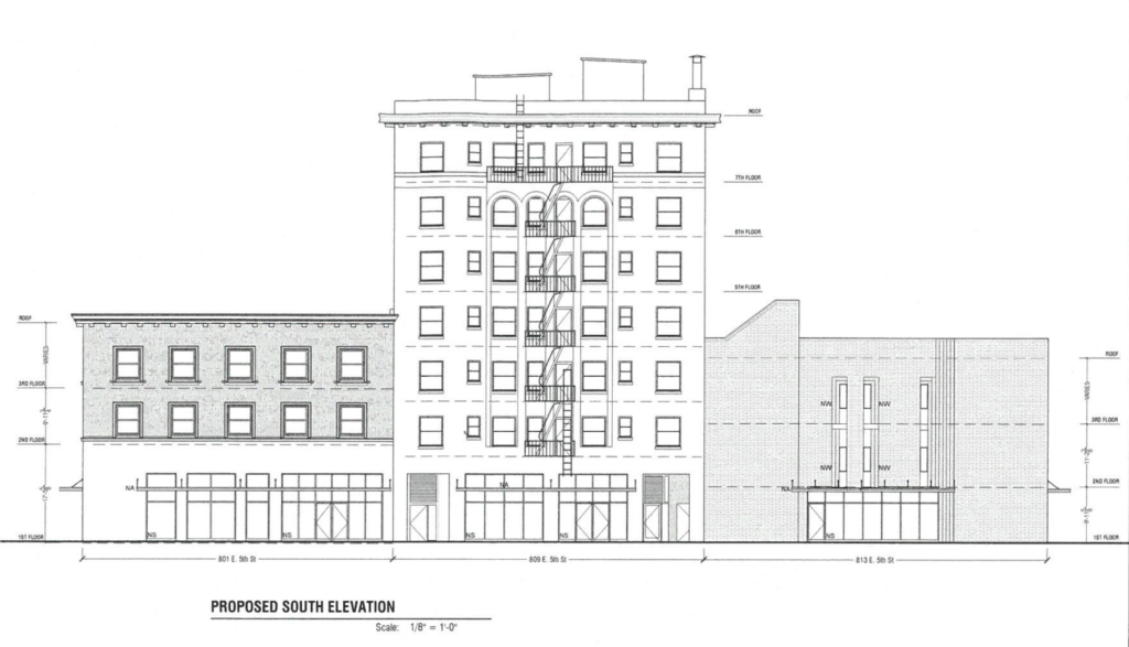 5th & Central - Drawing 1