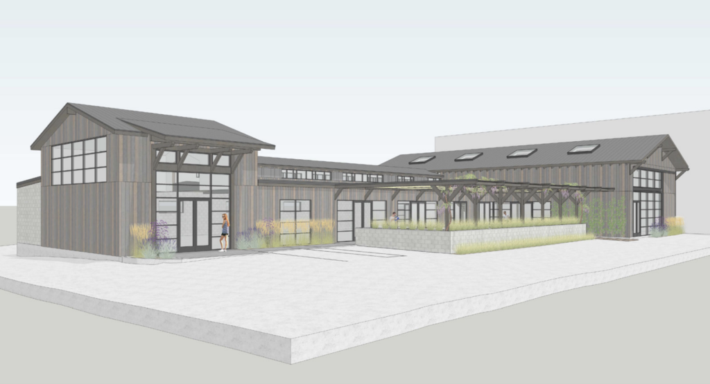 Fisher Hardware and Lumber Redevelopment - Rendering 1