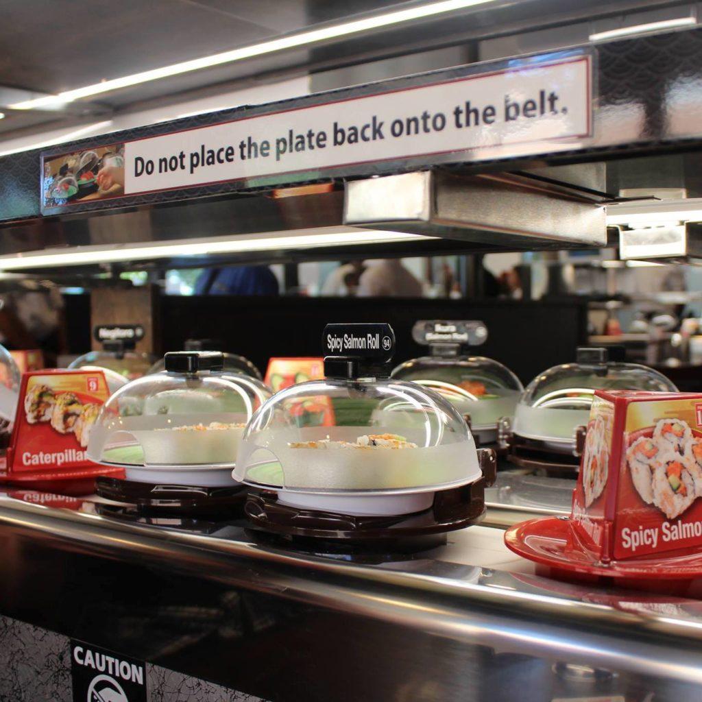 Kura Revolving Sushi Bar - Westfield Fashion Square - Sherman Oaks