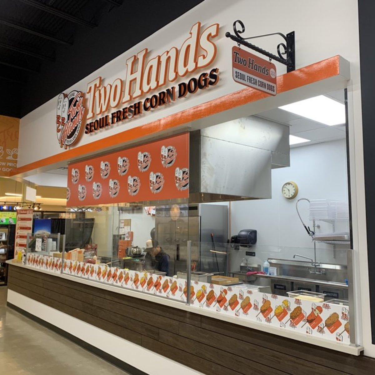 Two Hands Seoul Fresh Corn Dogs - Northridge
