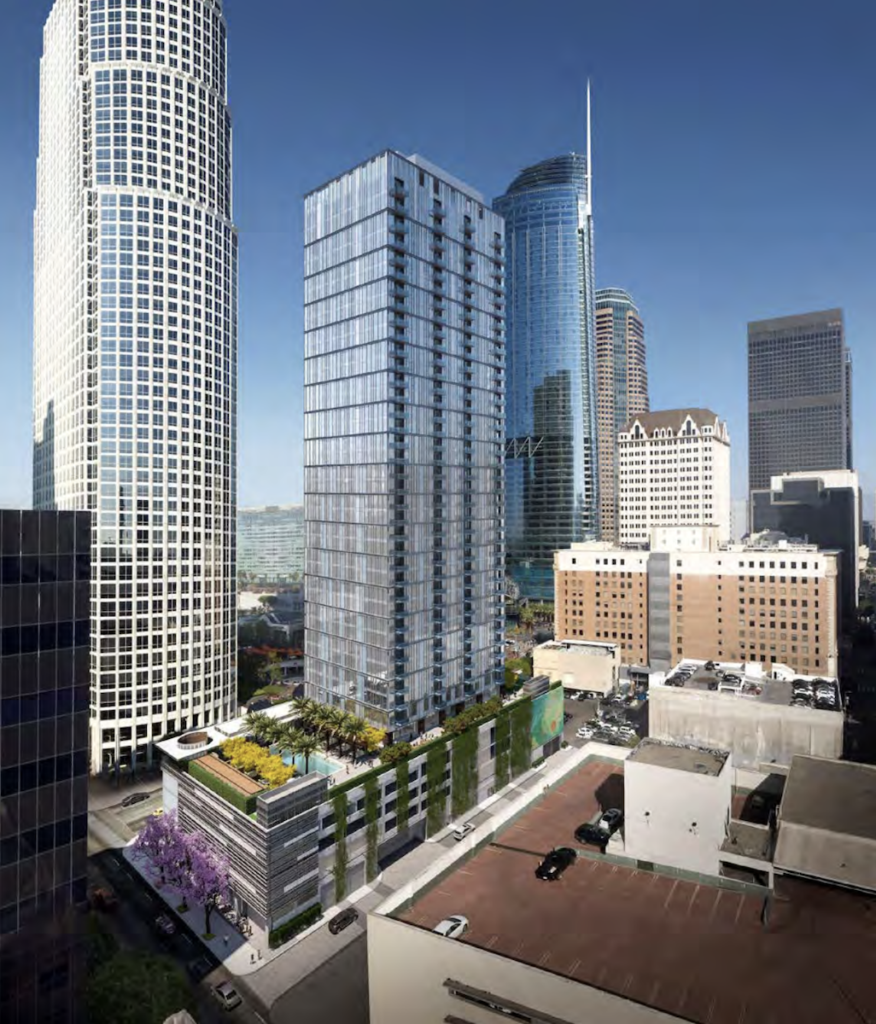8th and Figueroa - Rendering 1