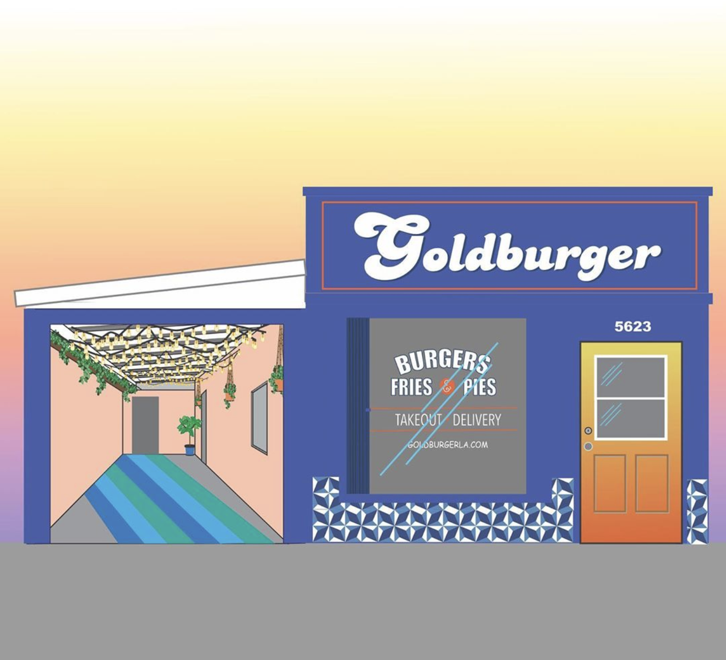 Goldburger Highland Park