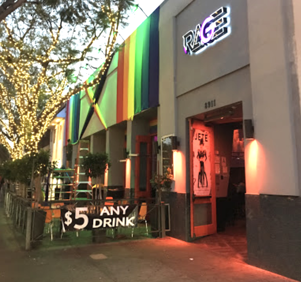 Rage West Hollywood Closed