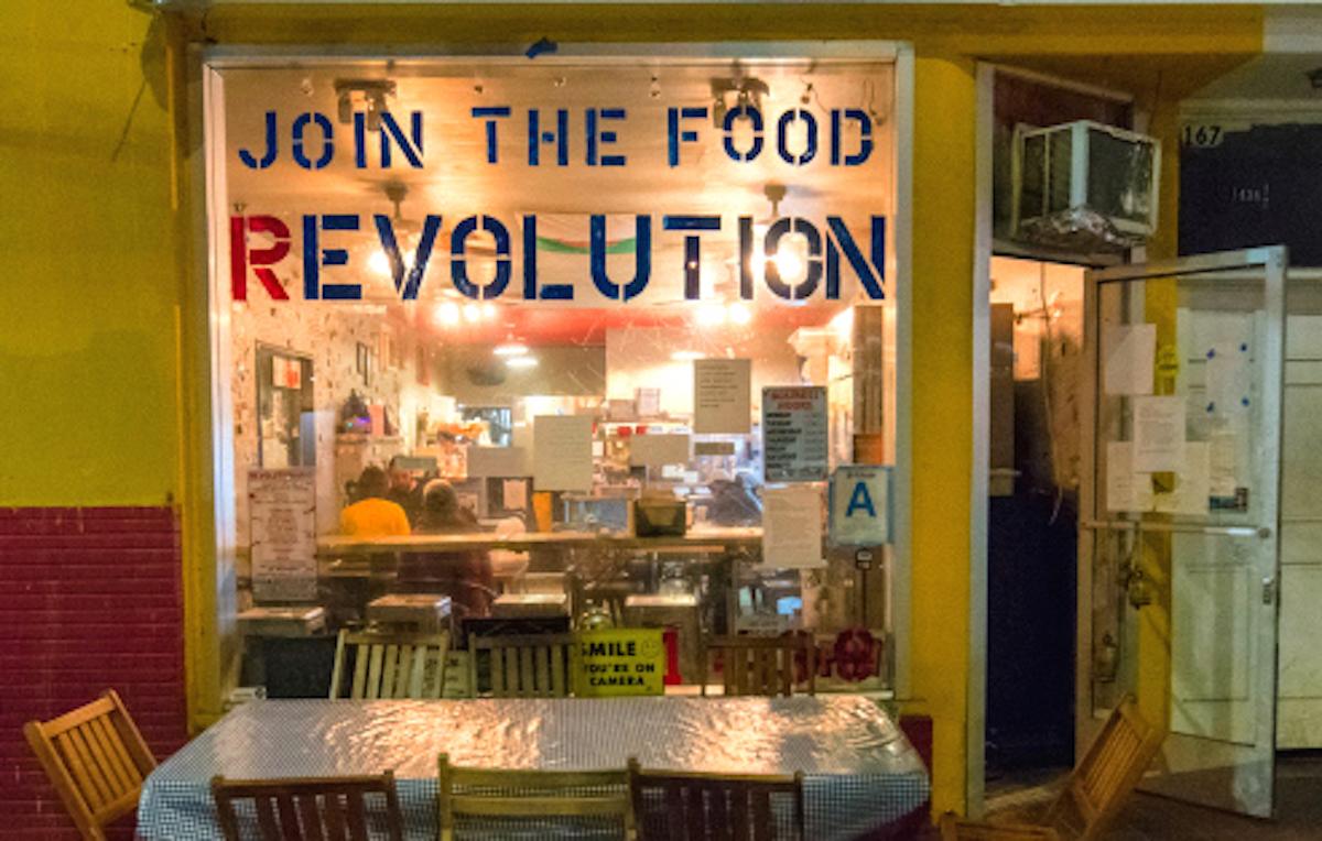 Revolutionario North African Tacos