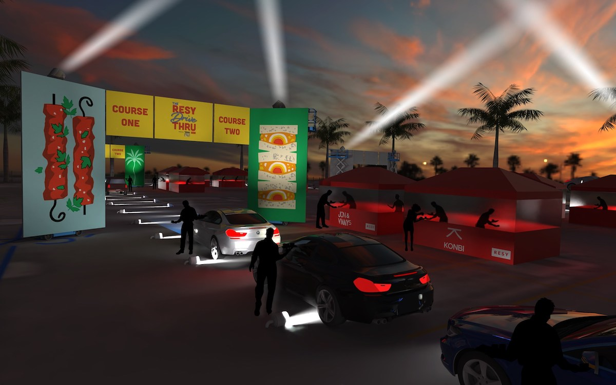 The Resy Drive Thru Hollywood