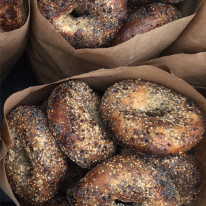 Courage Bagels Now Open in Virgil Village