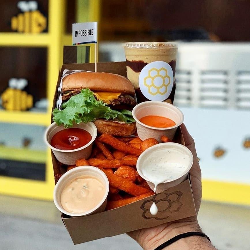 Honeybee Burger Fairfax