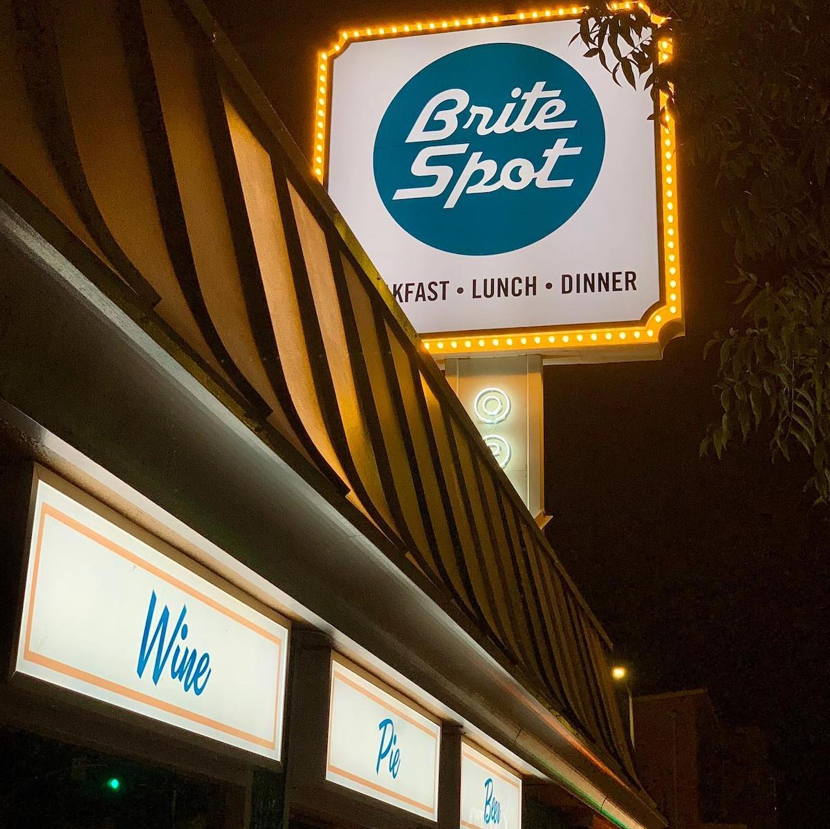 Brite Spot Diner Echo Park