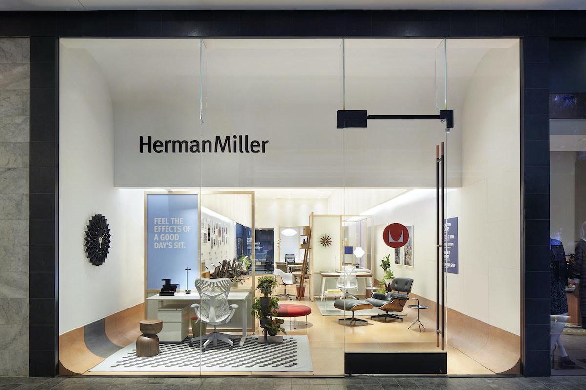 Shot of Herman Miller Store in Century City