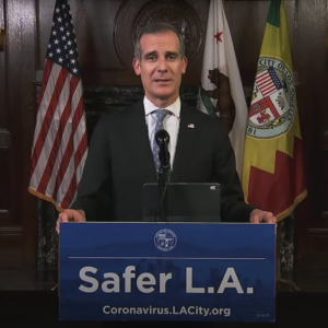 Photo: Mayor Eric Garcetti/YouTube