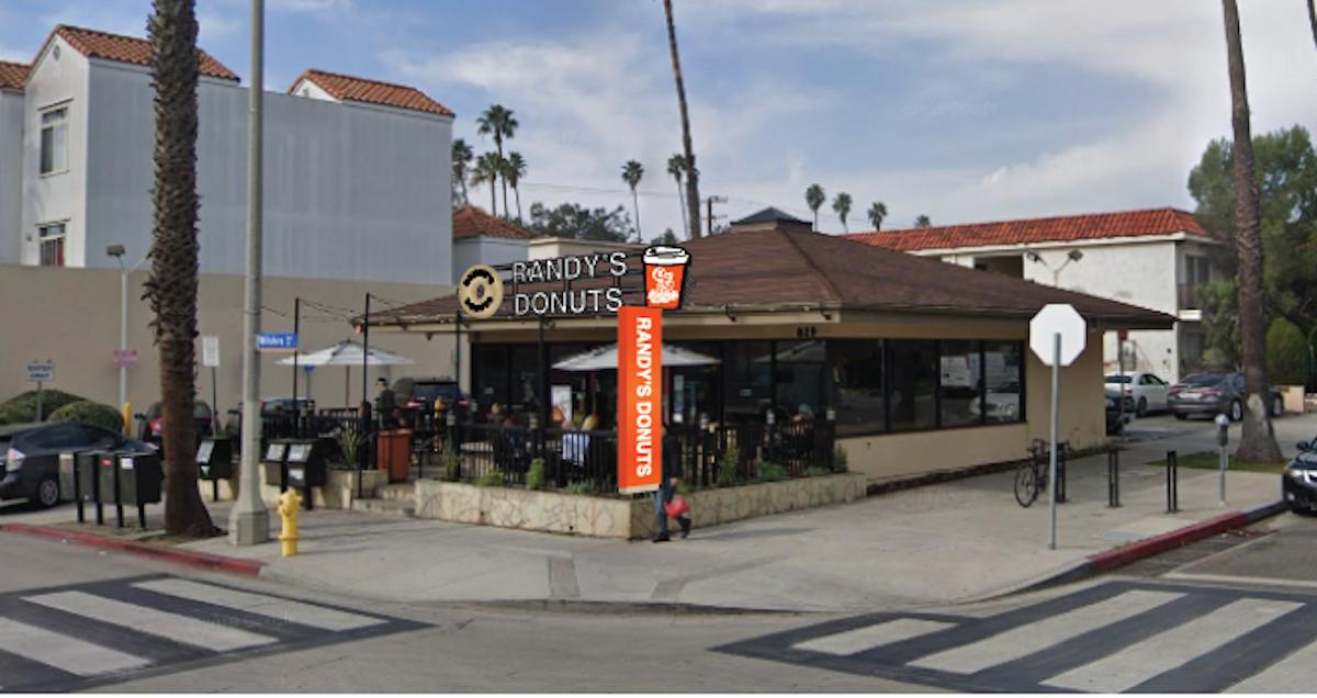 Randy's Donuts Santa Monica
