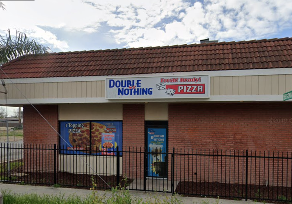 Double or Nothing Pizza