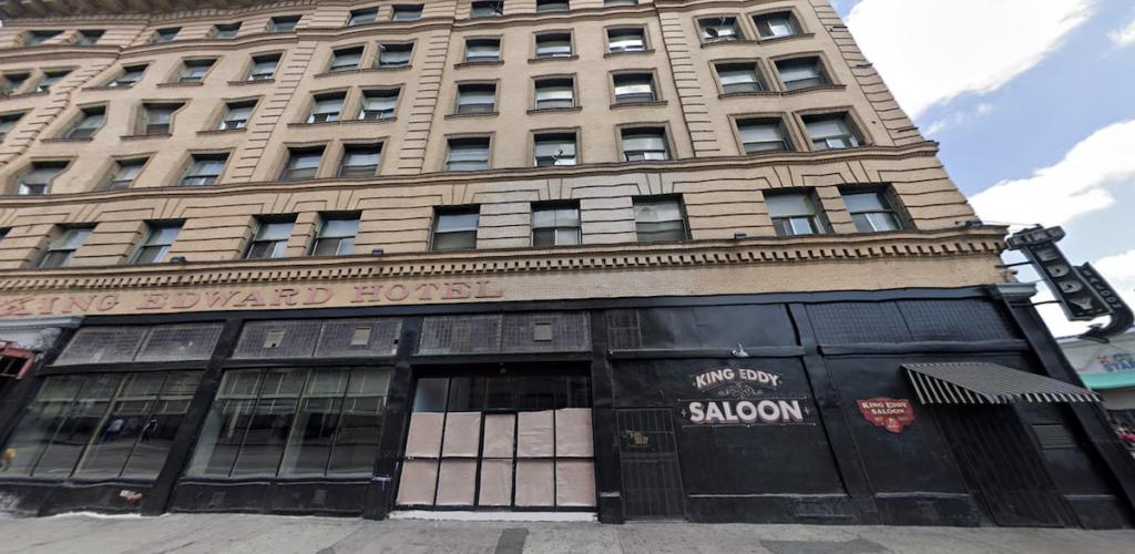 Skid Row's King Edward Hotel Earns City's Historic Designation