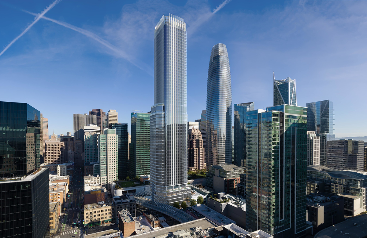 San Francisco's Next Big Skyscraper Will Include a Rosewood Hotel