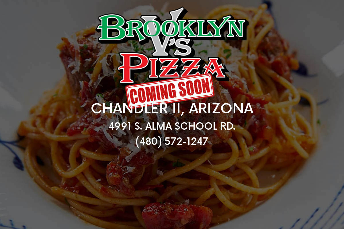 Brooklyn V's Pizza to Open Second Chandler Location